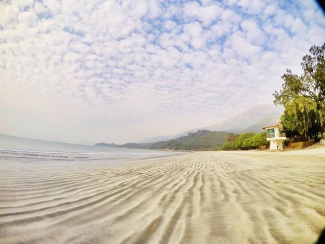 香港 郊外 大嶼山 貝澳 上山下海 風景 沙灘