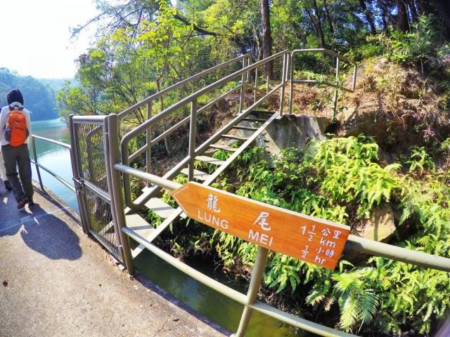 香港 郊外 大嶼山 貝澳 上山下海 風景 芝麻灣段