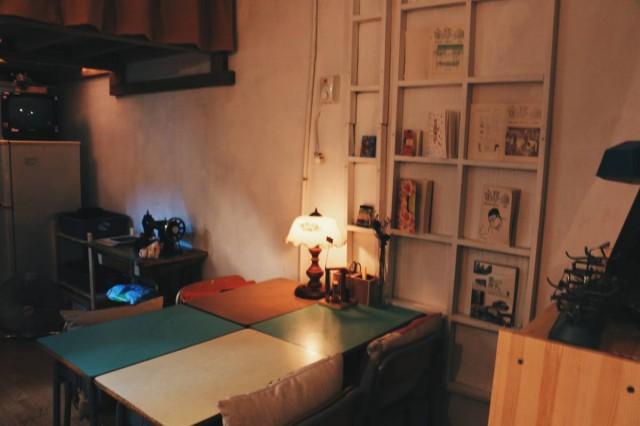 旺角 豉油街 老二公社 樓上 CAFE 閱讀