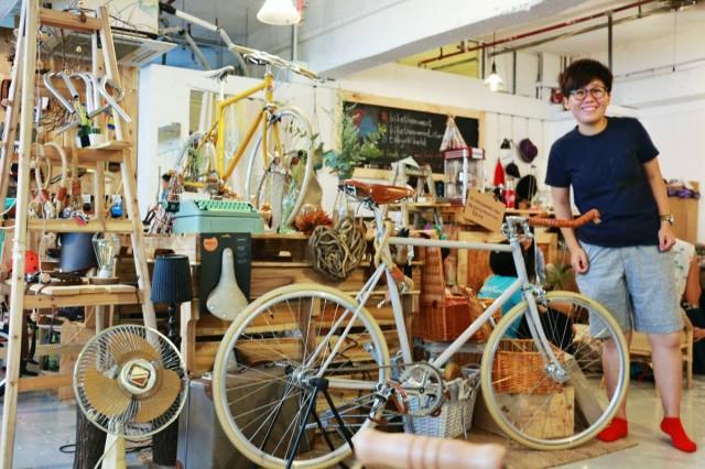 小時光 樓上 觀塘 單車店 咖啡 Bike The Moment Store 髦民士多