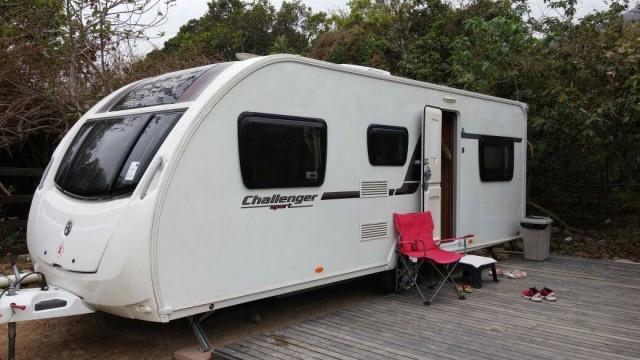 香港 兩日一夜 塘福 大嶼山 露營 露營車