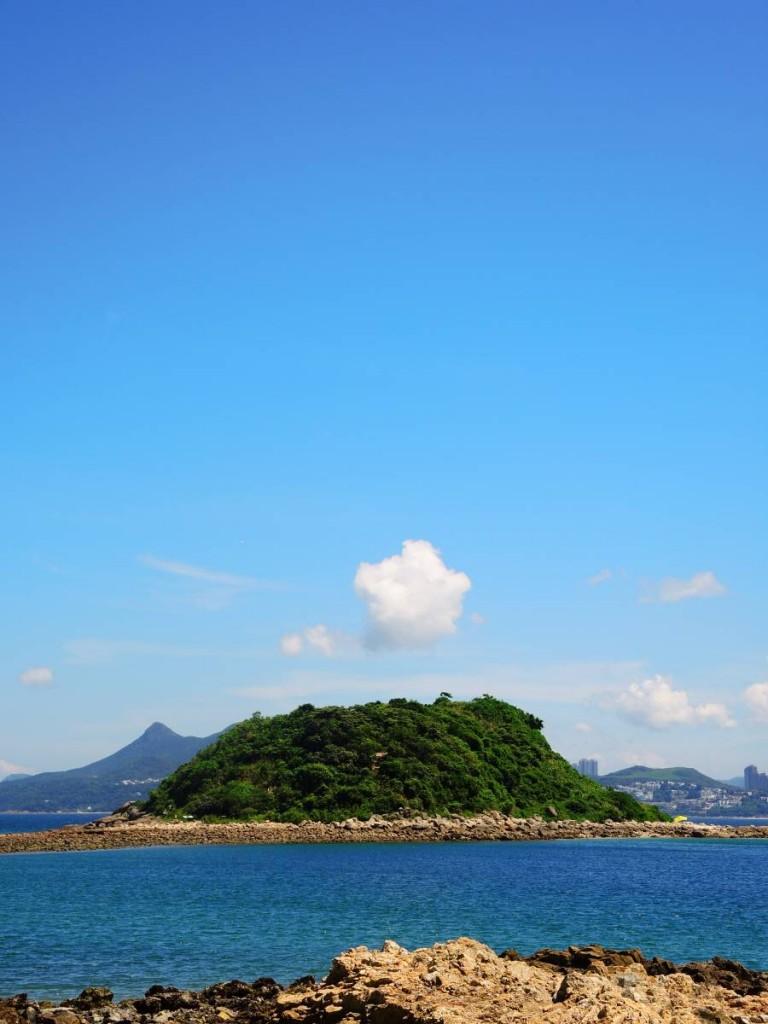 西貢 橋咀島 海水 傳說中 橋 環島