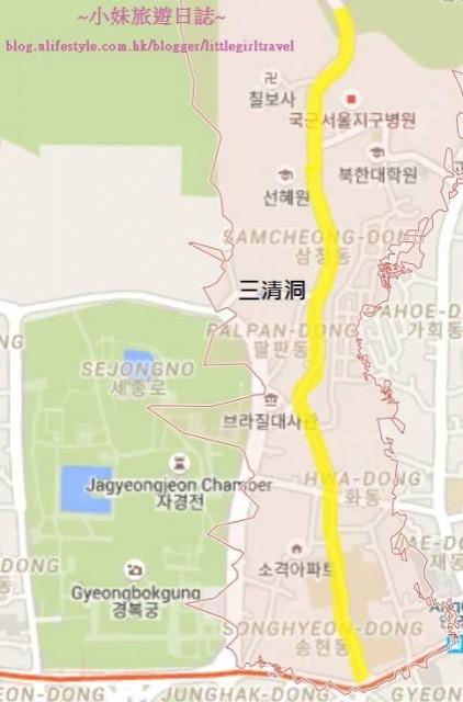 三清洞Map