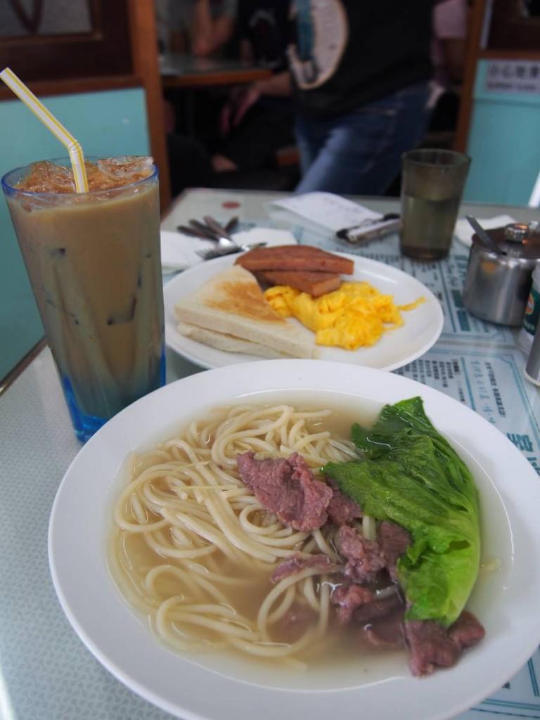 豐富常餐  $40(凍飲加$2)