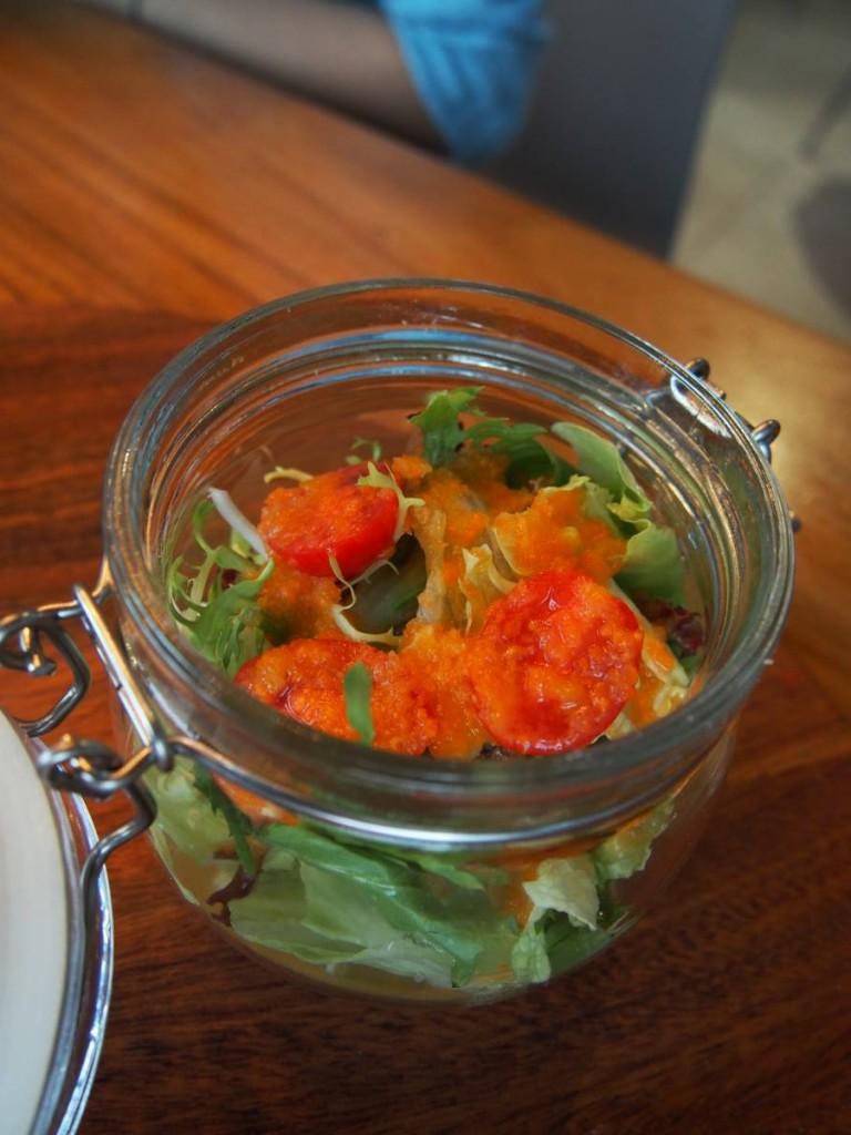 柚子雜菜沙律