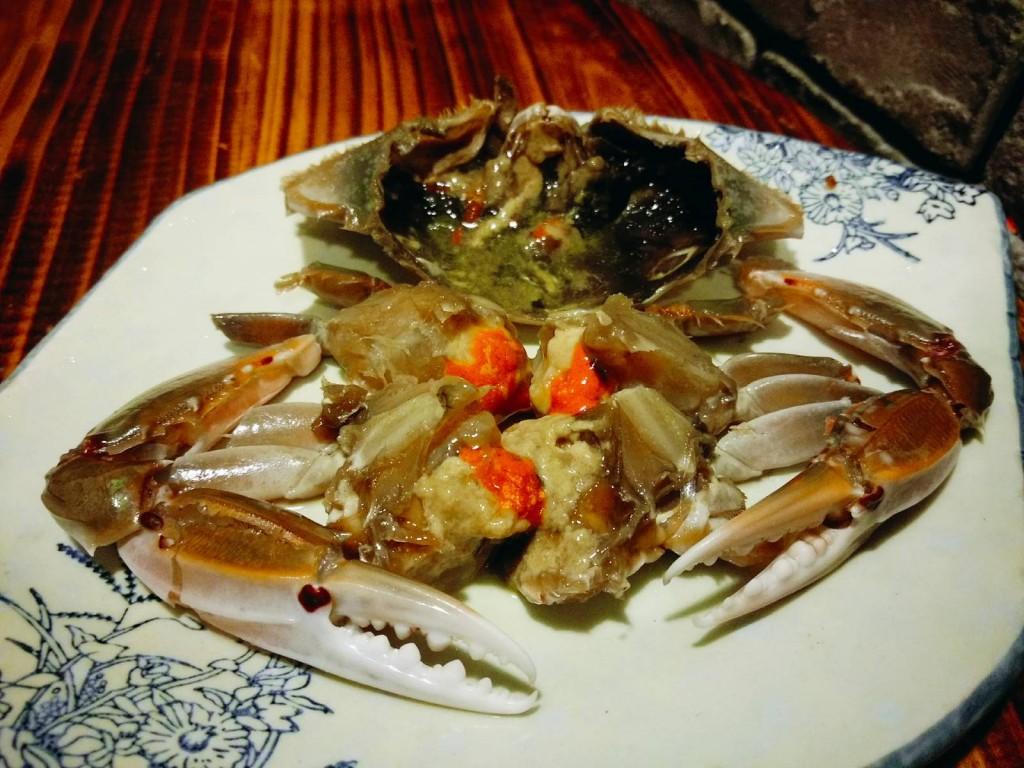 原隻醬醃膏蟹($88起)爆晒膏,完全唔輸畀韓式醃蟹!