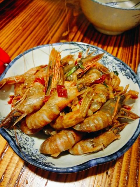 醬醃生蝦($48)