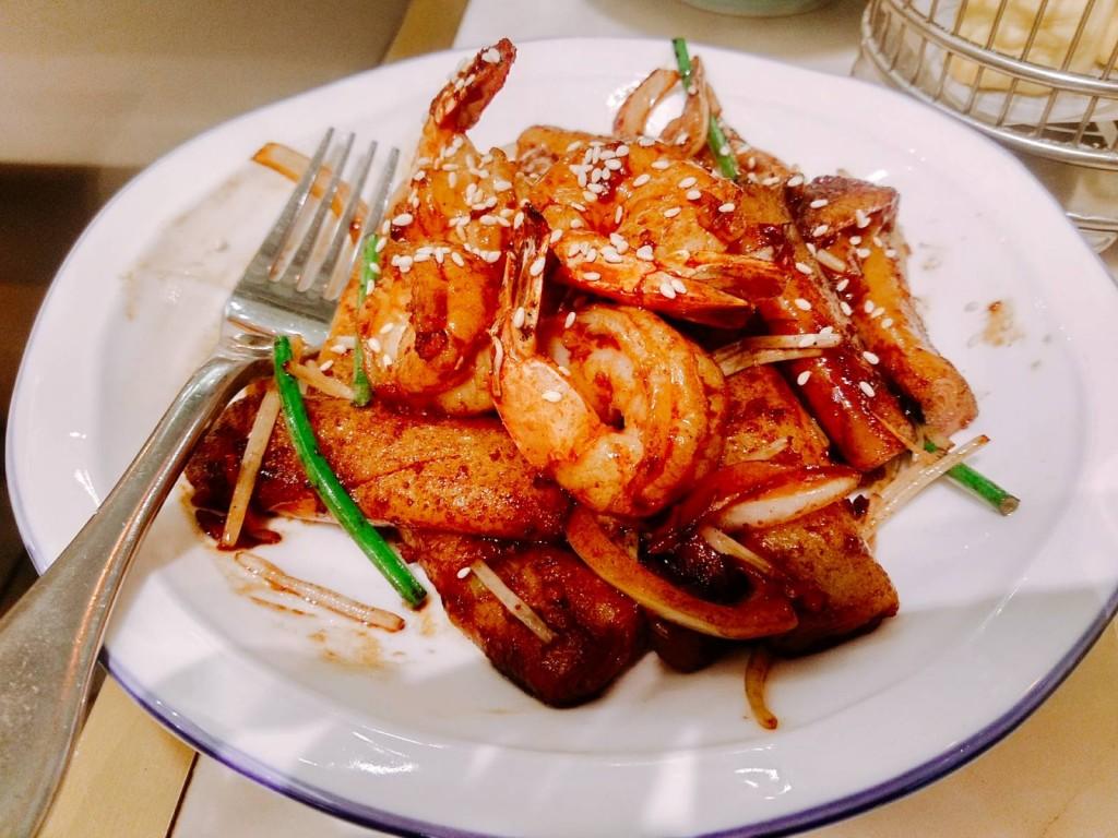 「炒蝦腸粉」($69)