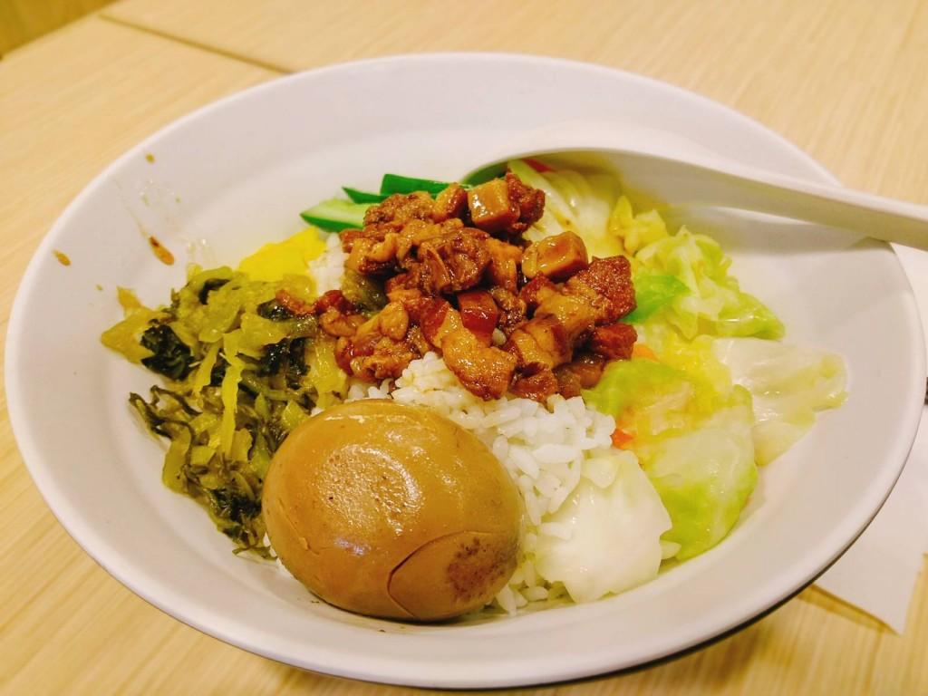 魯肉飯便當($48)