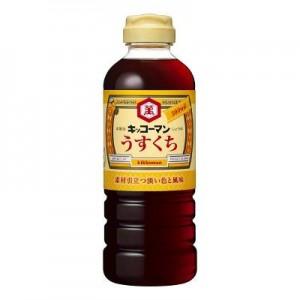 500ml薄口醬油 500ml薄口しょうゆ