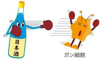 日本清酒的抗癌效果
