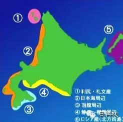 海膽產地地圖
