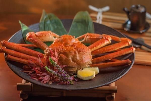 松葉蟹料理