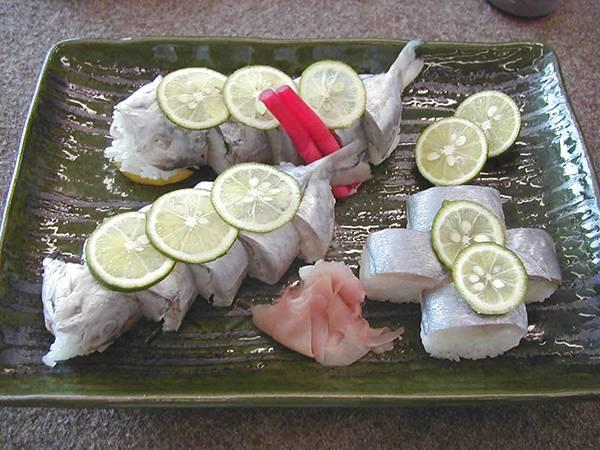 刺鯧魚姿壽司