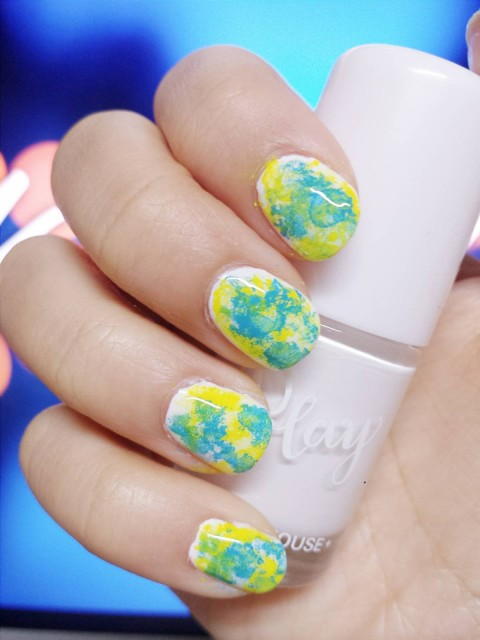 Marble Nail Art Tutorial Missy Jacey